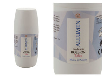 Carone - Allumen - Allume di potassio ROLL-ON Talco