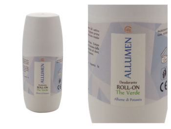 Carone - Allumen - Allume di potassio ROLL-ON The Verde